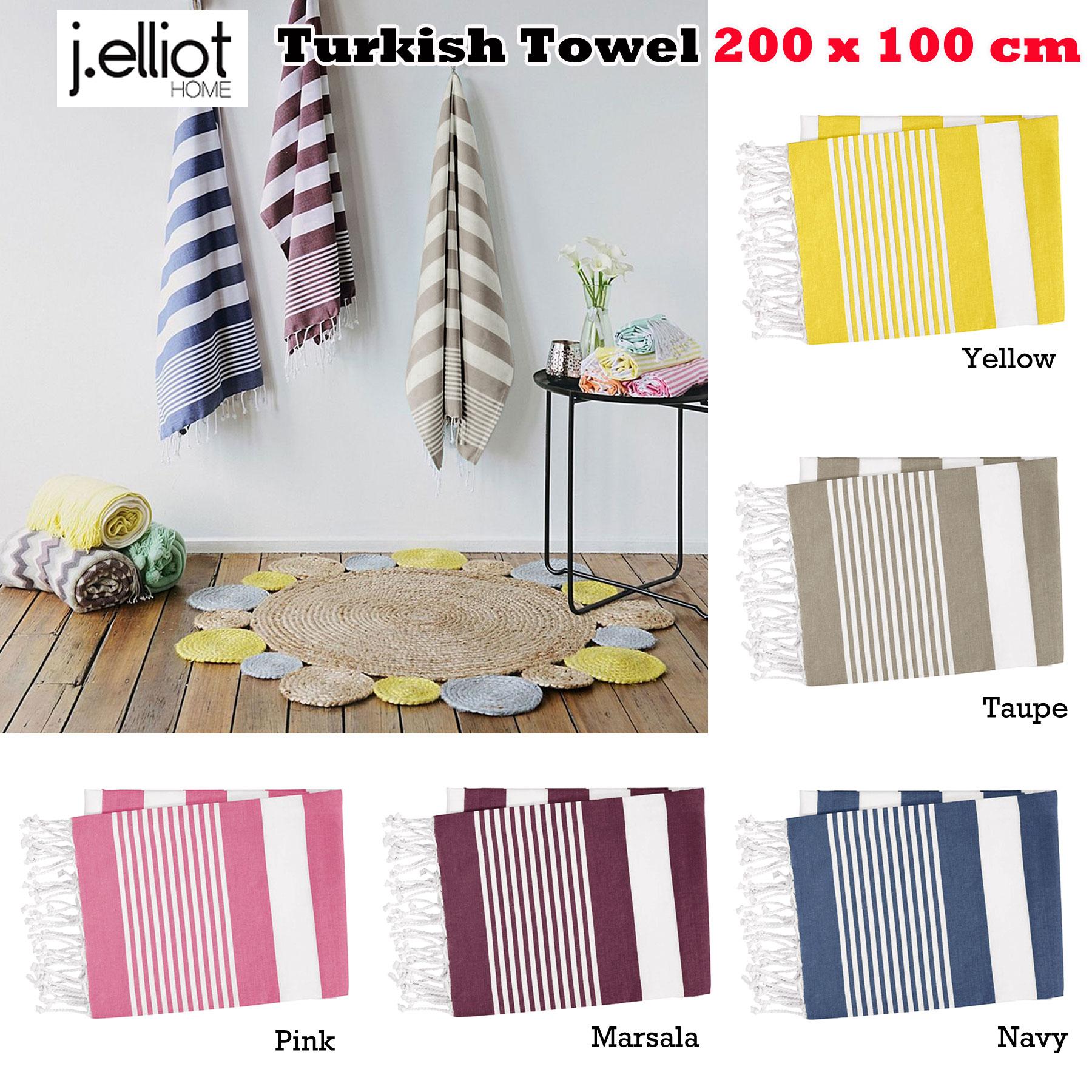 Factory Samples 100/% Cotton Turkish Bath Beach Stripes 200 x 100cm