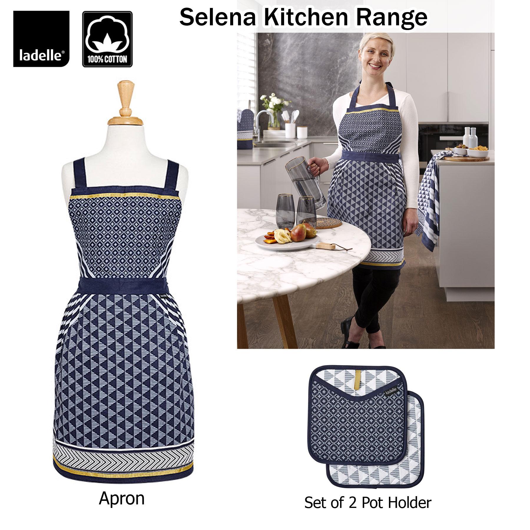 Tea Towel Choice Apron Mitten Bake Me Happy Cotton Kitchen Range by Ladelle